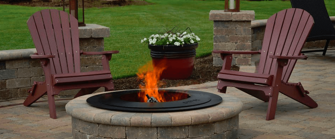 Katy Tx fire pit instllation