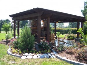 Katy custom pergola construction