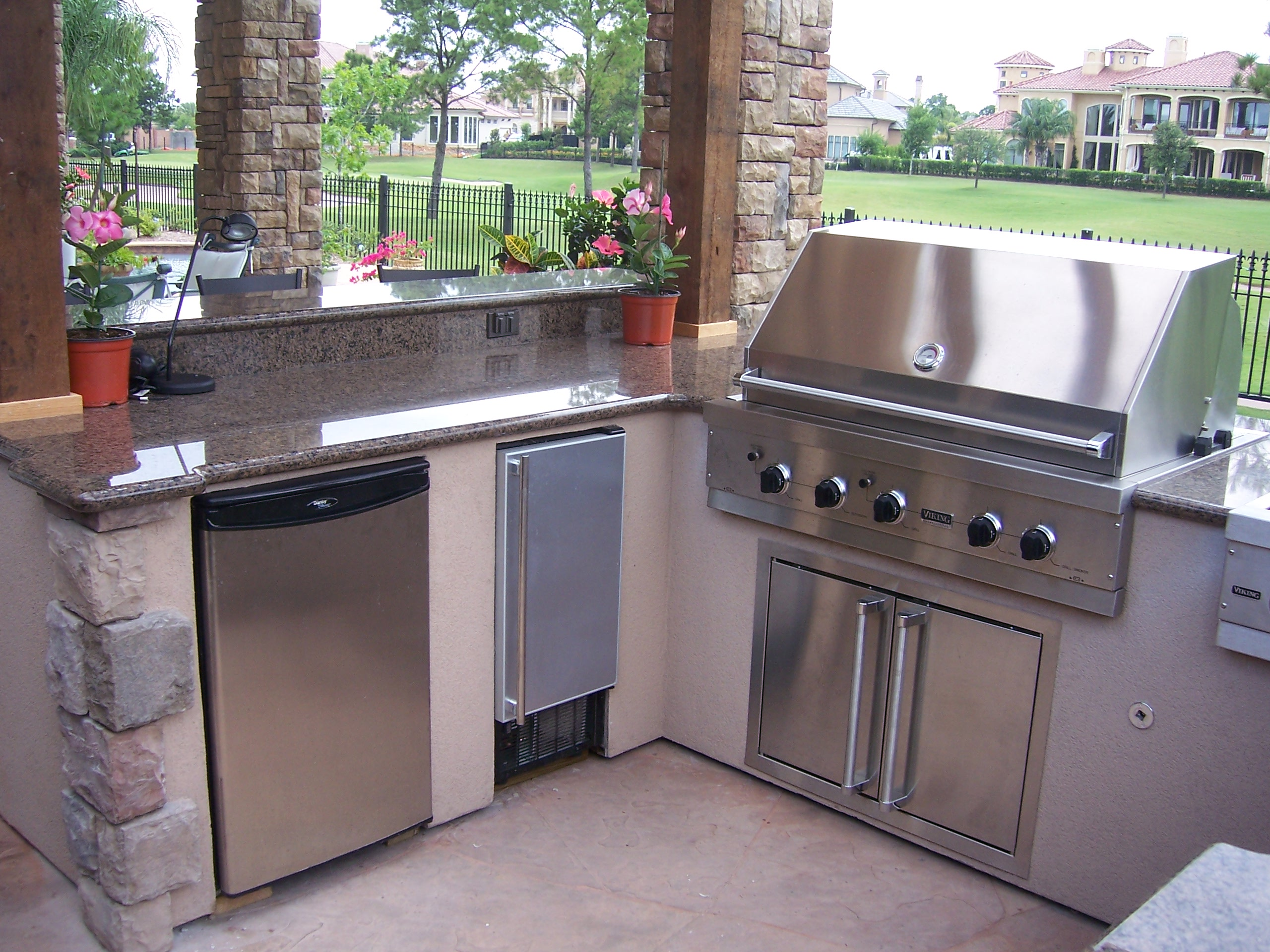 Katy Tx outdoor kitchen builder